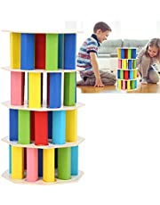 Block Toy, Cascading Game Toy, Bright Colors Exquisite Puzzle Toy for Kids Kids Toy Families