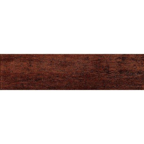 Samson 1021069 Barrique Matte Floor Tile, 6X24-Inch, Mogano,  14-Pack ()