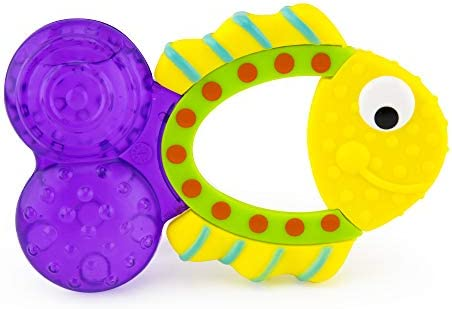 BPA FREE TOMMEE TIPPEE ESSENTIALS FISH SHAPED WATER FILLED TEETHER  0M