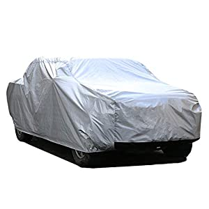 Kayme 6 Layers Truck Cover Waterproof All Weather, Heavy Duty Outdoor Pickup Cover Sun Uv Rain Protection, Universal Fit…