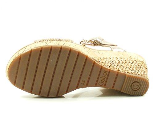 Sandali Con Il Cinturino Da Donna Comfort Gabor, Beige Bianco (beige)