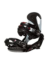Flux DS30 Snowboard Binding (Black, Large/12.25x10.25x6.1
