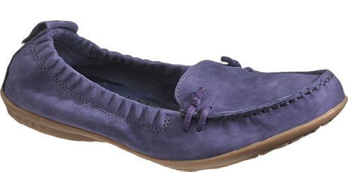 ip On MT Womens Loafers Shoes Navy Nubuck 8 ()