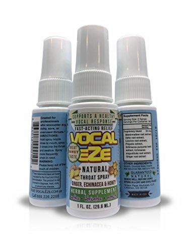 Vocal EZE Professional Throat Spray 1 Oz