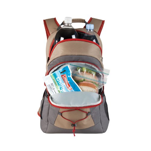 Coleman Soft Cooler Backpack | 28-Can Leak-Proof Cooler | Great for Picnics, BBQs, Camping, Tailgating & Outdoor Activities