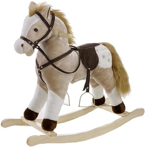 Cavallini A Dondolo.Heunec 725072 Cavallino A Dondolo Classico Con Effetti Sonori