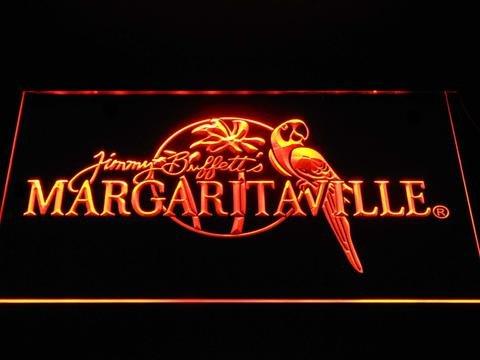 DiMike Jimmy Buffett's Margaritaville LED Neon Sign (Buffett Lamp)