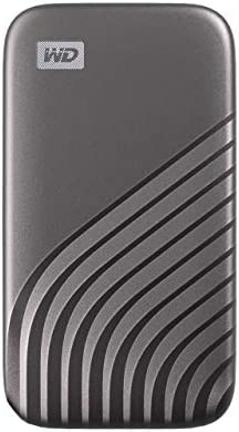 WD 500GB My Passport SSD External Portable Solid State Drive, Gray, Up to at least one,050 MB/s, USB 3.2 Gen-2 and USB-C Compatible (USB-A for Older Systems) - WDBAGF5000AGY-WESN