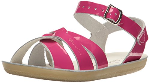Salt Water Sandals by Hoy Shoe Sun-San Swimmer,Shiny Fuchsia,1 M US Little Kid