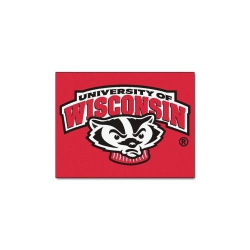 dgers All-Star Mat (Wisconsin Badgers Door Mat Rug)