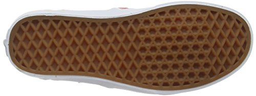 Vans Cayenne para Washed Rojo Zapatillas Canvas Mujer Washed W Asher rfH47r