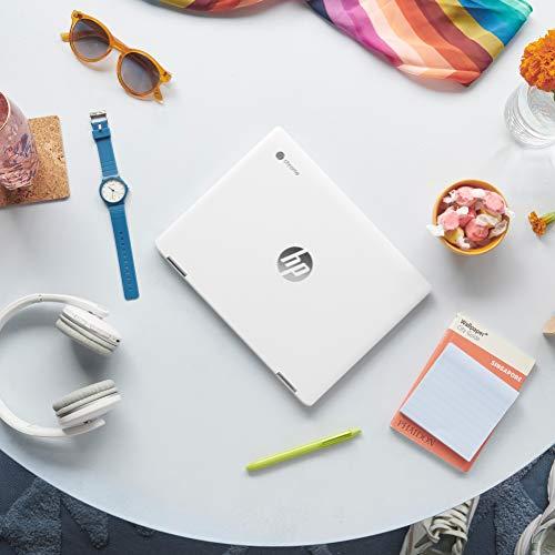 HP Chromebook x360 Intel Celeron N4020 Processor 12-inch Touchscreen Laptop (Celeron N4020/4GB/64GB SSD/Chrome OS/Integrated Graphics/Natural Silver), 12b-ca0010TU