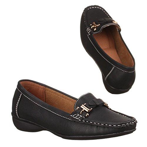 Ital-Design - Zapatos Mujer Negro - negro