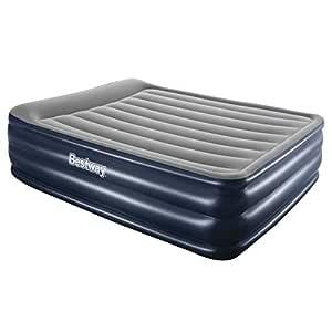 Bestway Premium Queen Air Bed Inflatable Mattress Built-in Pump Camping Sleeping Mats Indoor Home Travel