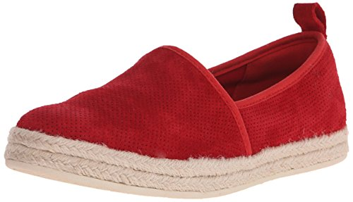 Clarks AZELLA Nubuck Red plano Revere zapato rfwxSACrq