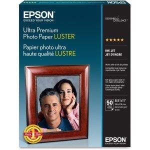 Epson PREMIUM LUSTER PHOTO PAPER LETTER