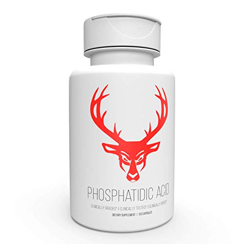 Phosphatidic Acid (PA) - Increase Lean Mass Gains, Improved Strength, Optimal Body, 60 Servings (Best Stack For Building Muscle And Losing Fat)