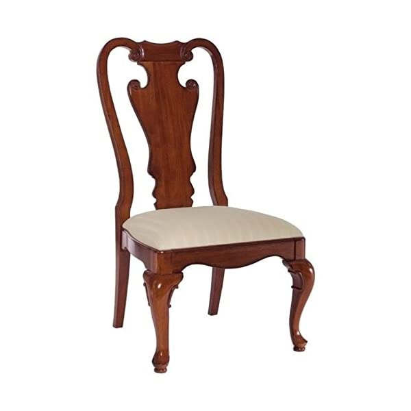 BOWERY HILL Splat Back Dining Side Chair in Classic Antique Cherry