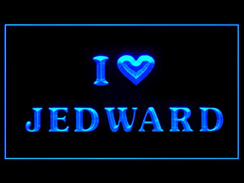 I Love Jedward Led Light Sign