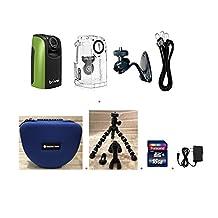 Brinno Construction Time Lapse Camera Bundle BCC100 + Smartec Camera Bag + Smartec Flexible Tripod + 16GB SD + Wall Power Supply