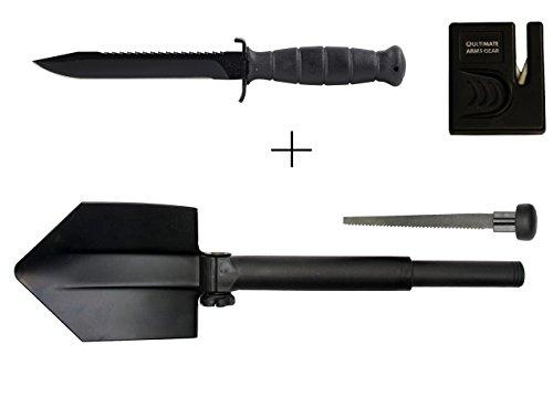 Glock 81 Black Field Knife 6.5
