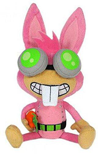 Jazwares Poptropica 7 Inch Plush Figure Dr. Hare by Jazwares (Poptropica Toys)