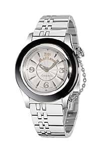 John Galliano Reloj de mujer de cuarzo y acero inoxidable