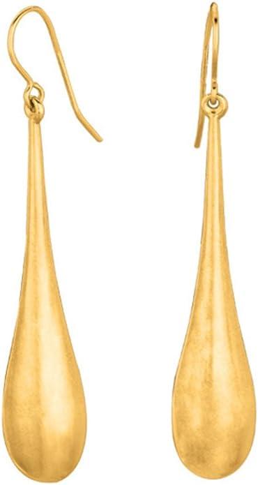 shiny gold jewelry earrings metal geometric gold drop Earrings Abalone Shell Shiny Teardrop Earrings Metal Geometric Earrings