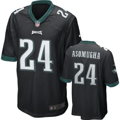 01ab428ea33 Philadelphia Eagles Nnamdi Asomugha #24 NFL Youth Jersey, Black 85%OFF