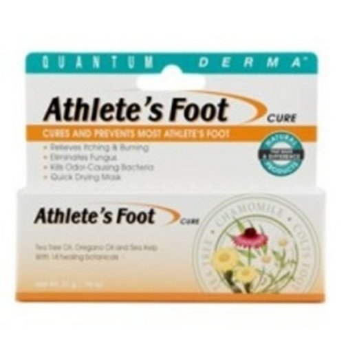 Quantum Derma, Athlete's Foot Cure, 21 Grams by Quantum