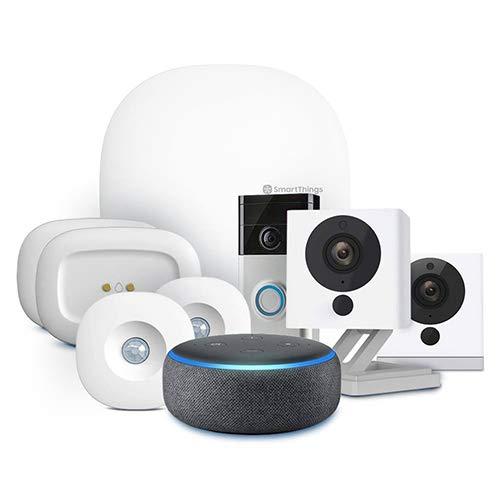 Samsung SmartThings Hub 3rd Generation [GP-U999SJVLGDA] Smart Home Automation Hub Home Monitoring Smart Devices - Alexa Google Home Compatible - Zigbee, Z-Wave, Cloud to Cloud Protocols - White