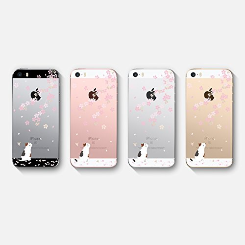 Protection Housse TPU Anti de Coque Anti Fleurs Soft pour vanki iPhone 5 Choc 15 Gel 5S Iphone5 Etui Souple SE Silicone Plantes Motif 5S SE Transparente Rayure Cover Case Housse Zn8q61dA