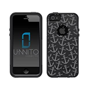 Otterbox Commuter Series ® Black iPhone 5 Case Anchor Pattern