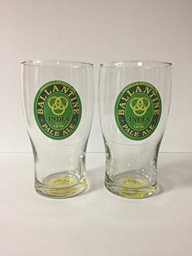 Ballantine Ale - Ballantine India Pale Ale - 16oz Tulip Pint Glass - 2 Pk