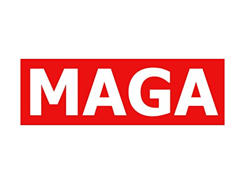 MAGA Decal Bumper Sticker America product image