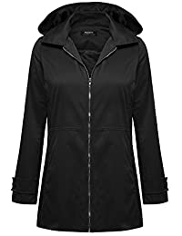 Zeagoo Women Super Lightweight Jacket Quick Dry Windproof