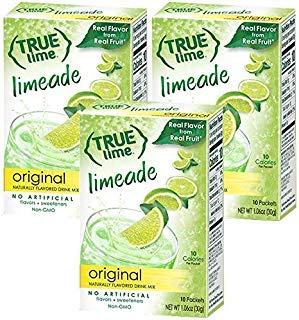 NEW FLAVOR: True Lime Limeade (Pack of 3) 10ct each box ()