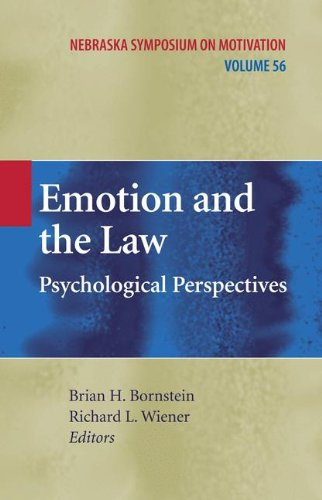Emotion and the Law: Psychological Perspectives (Nebraska Symposium on Motivation)