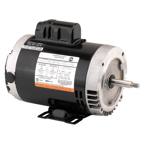 US Motors (Nidec) EE733 - Chiller/Cooling Tower Motor - 3 ph, 2 hp, 3600 rpm, 208-230/460 V, 56J Frame, ODP Enclosure, 50/60 (Cooling Tower Chiller)