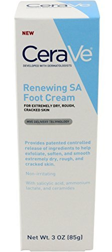 CeraVe Renewing System, SA Renewing Foot Cream, 3 Ounce by