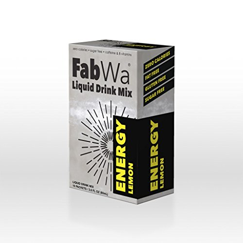 FabWa Liquid Energy Drink Mix - Lemon - Single Box