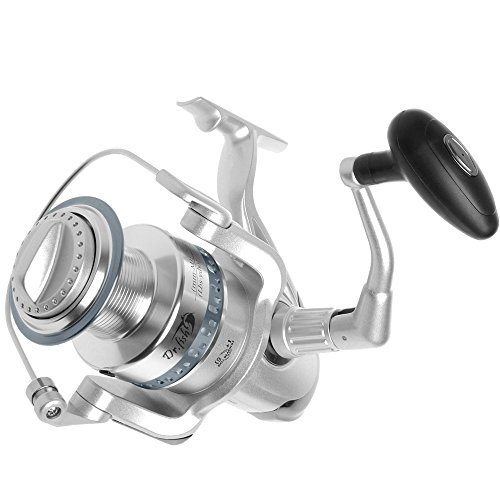 Dr.Fish Saltwater VICTORY 11000 Spinning Reel Heavy Duty Ultra High Capacity Surf Fishing Inshore Offshore Jigging Reel 4.5:1 Right Left Hand Changeable For Sale