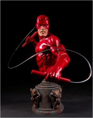 Daredevil Bust - Daredevil (Classic Red Variant) Mini Bust by Bowen Designs
