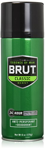 Brut Anti-perspirant Deodorant Spray, Classic 6 Oz (Pack of 3)