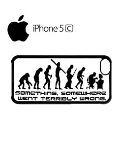 Something Somewhere Went Wrong Mobile Cell Phone Case Cover iPhone 5c White