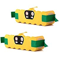 Masione 2 Pack 2500mAh Ni-CD Replacement Battery for iRobot Roomba R3 500 510 530 532 535 540 545 550 552 560 562 570 580 581 582 585 595 600 620 630 650 660 700 760 770 780 790 800 870 880 80501