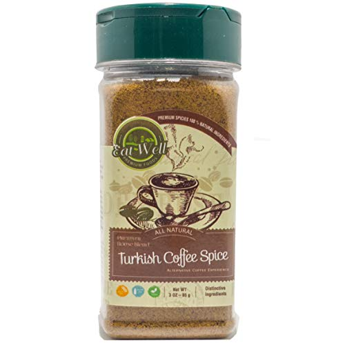 Turkish Coffe Spice | 3oz - 85g | Alternative Coffee Experience | Eat Well Premium Foods