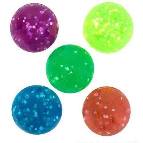 (12) HI Bounce Glitter Balls Super HIGH Bounce 27mm 1