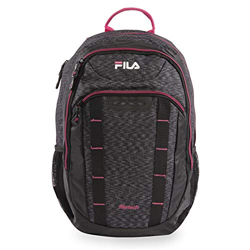 Fila Katana Tablet and Laptop Backpack, Static/Fuchsia, One Size