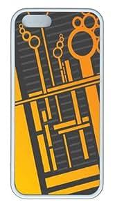 Alien Circuitry9 Custom iPhone 5s/5 Case Cover TPU White